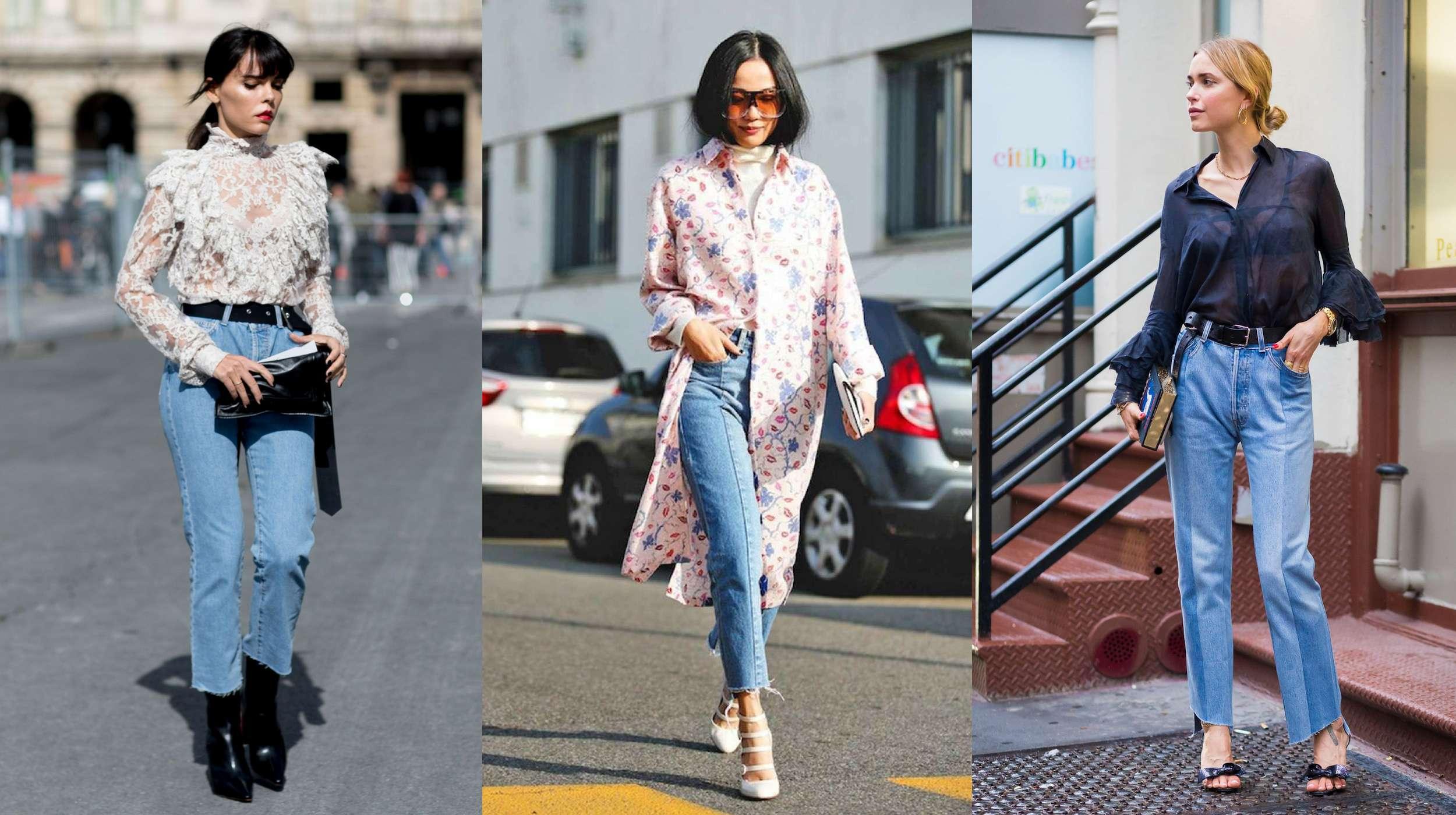 lựa chọn quần jeans hoàn hảo theo từng dáng người
