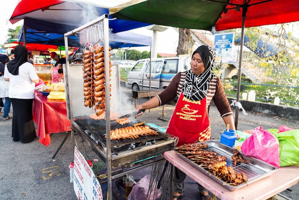ELLE Viet nam khu phố ẩm thực
