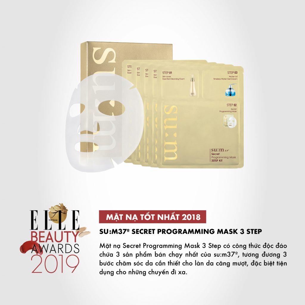 07 mặt nạ dưỡng da ELLE Beauty Awards 2019