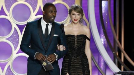 """Taylor Swift bất ngờ xuất hiện tại Quả Cầu Vàng 2019 trao giải """"Ca khúc trong phim xuất sắc nhất"""" cho Lady Gaga"""