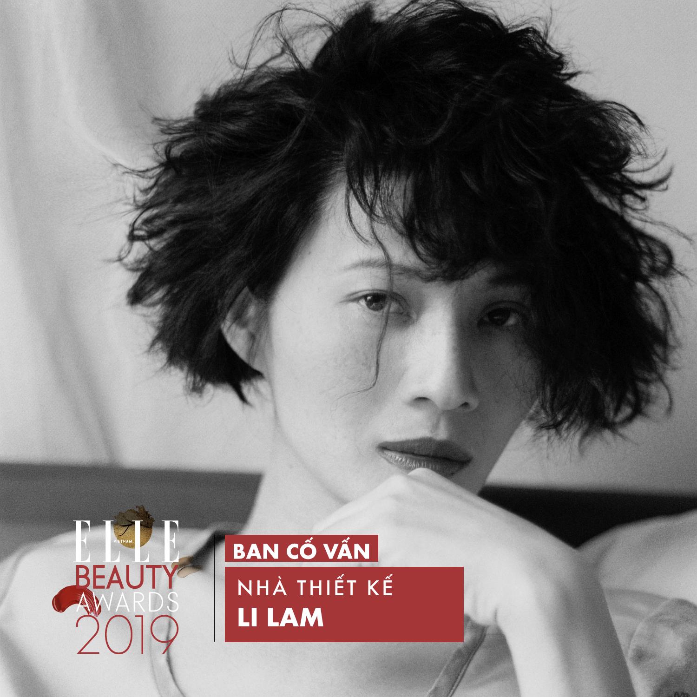 Li Lam ELLE Beauty Awards 2019