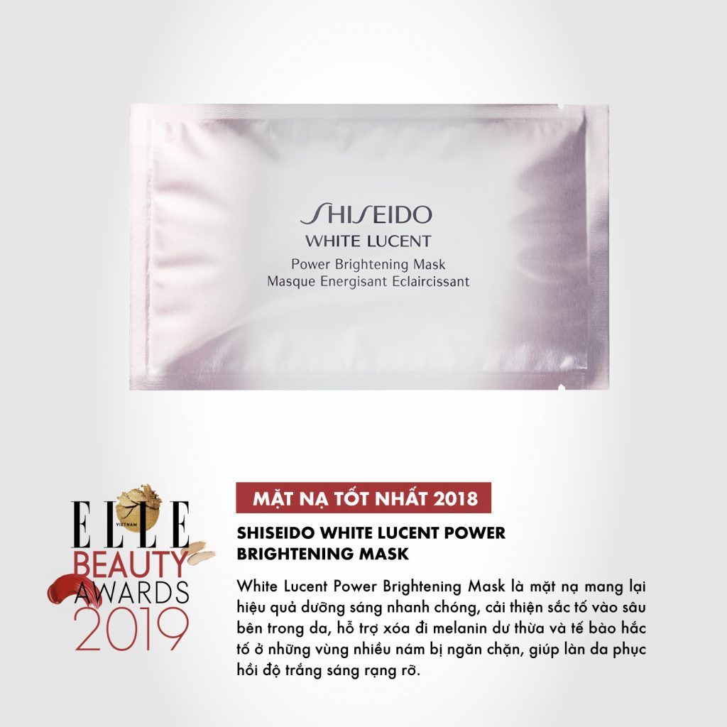 ELLE bEAUTY Awards 2019 mặt nạ