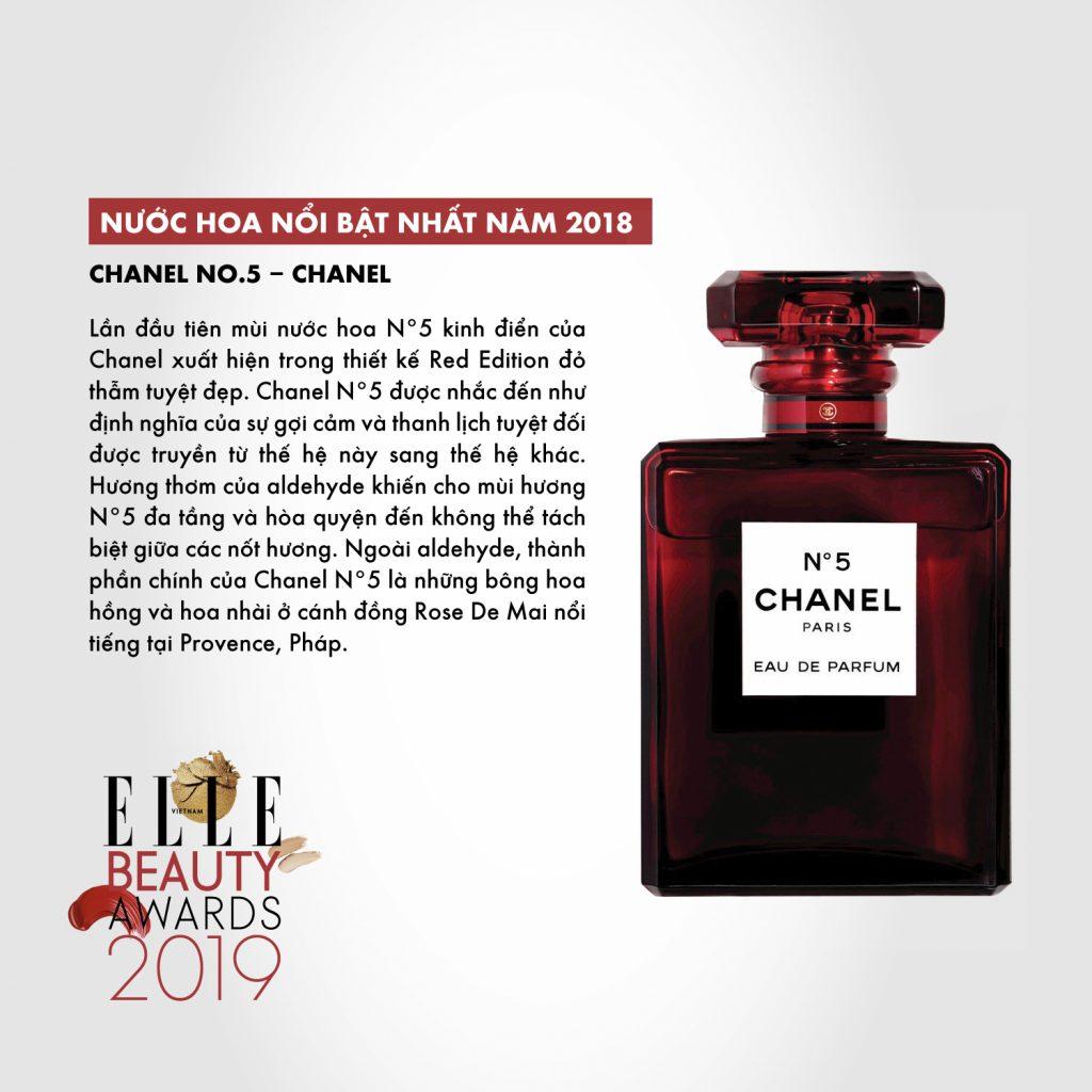 hương nước hoa 02 ELLE Beauty Awards 2019