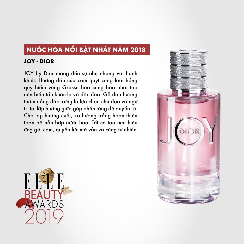 hương nước hoa 03 ELLE Beauty Awards 2019