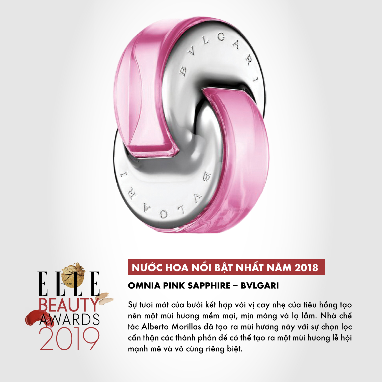 hương nước hoa 05 ELLE Beauty Awards 2019