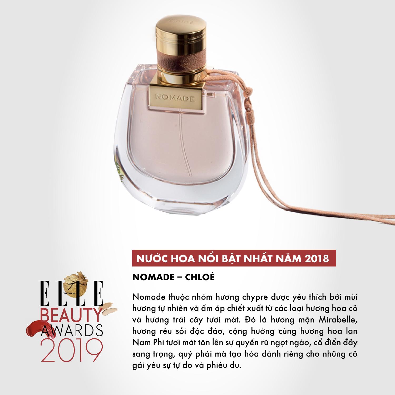 hương nước hoa 08 ELLE Beauty Awards 2019