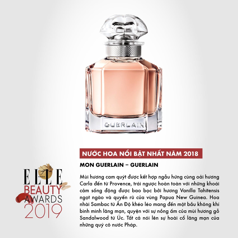 hương nước hoa 10 ELLE Beauty Awards 2019
