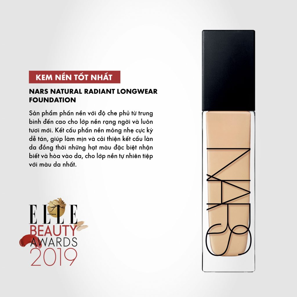 kem nền 02 ELLE Beauty Awards 2019
