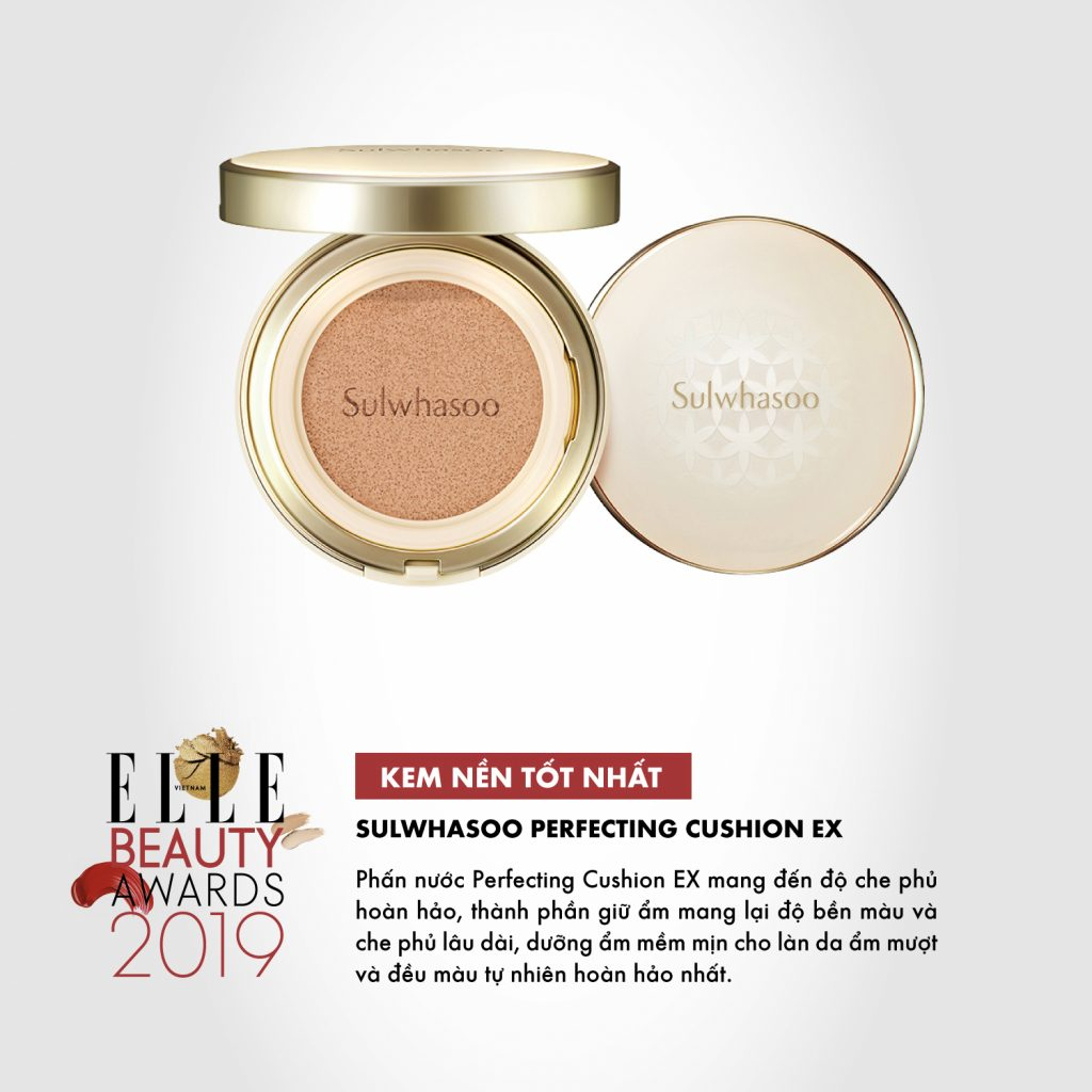 kem nền 03 ELLE Beauty Awards 2019