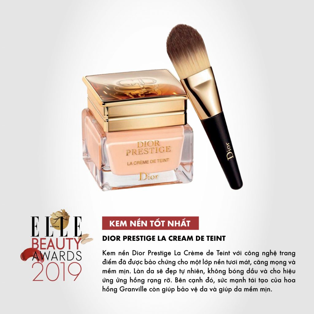 kem nền 05 ELLE Beauty Awards 2019