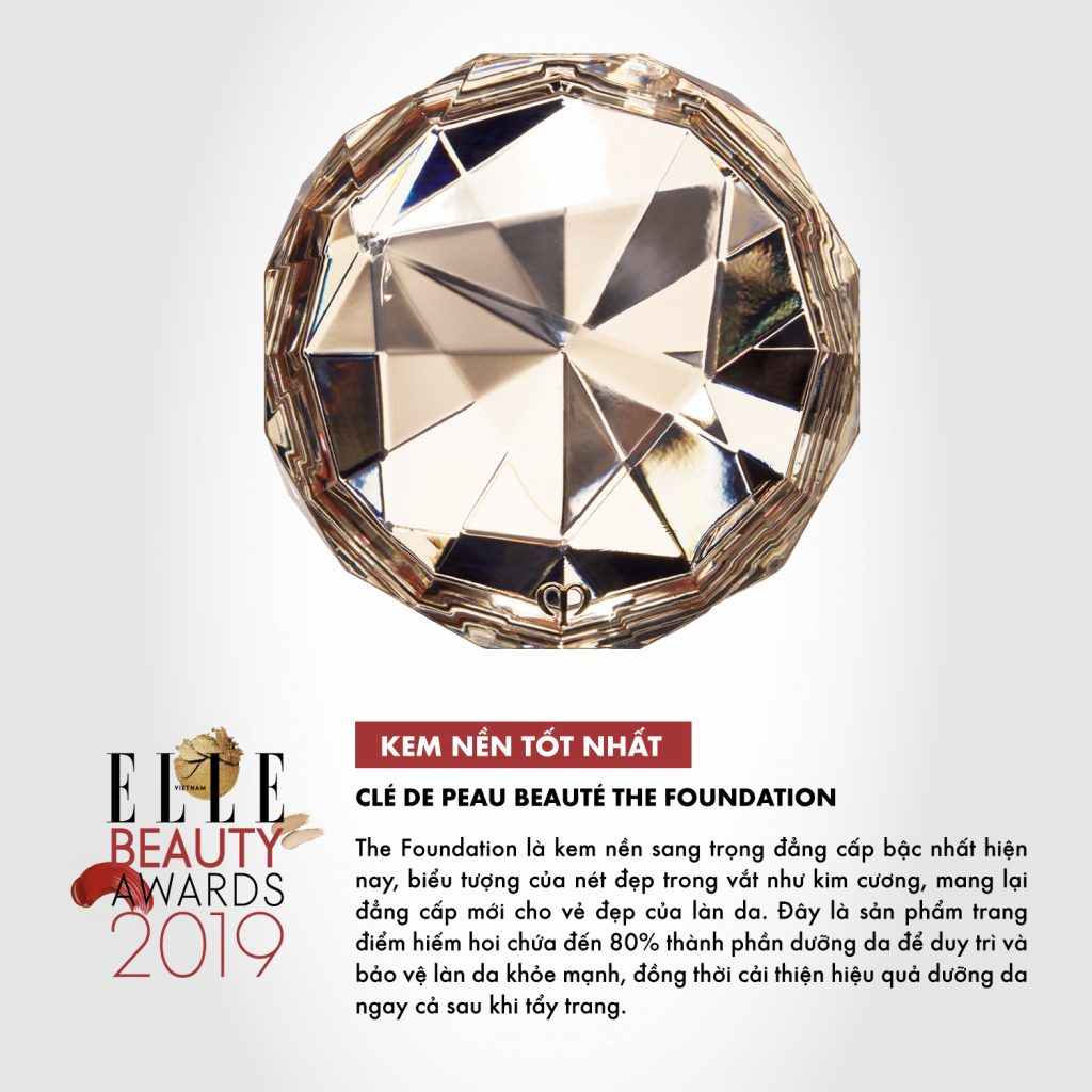 kem nền 08 ELLE Beauty Awards 2019