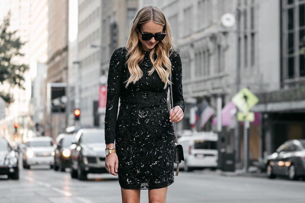 trang phục sequin thời trang bền vững