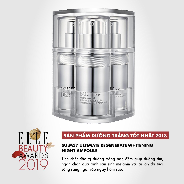 ELLE Beauty Awards 2019 dưỡng trắng 05