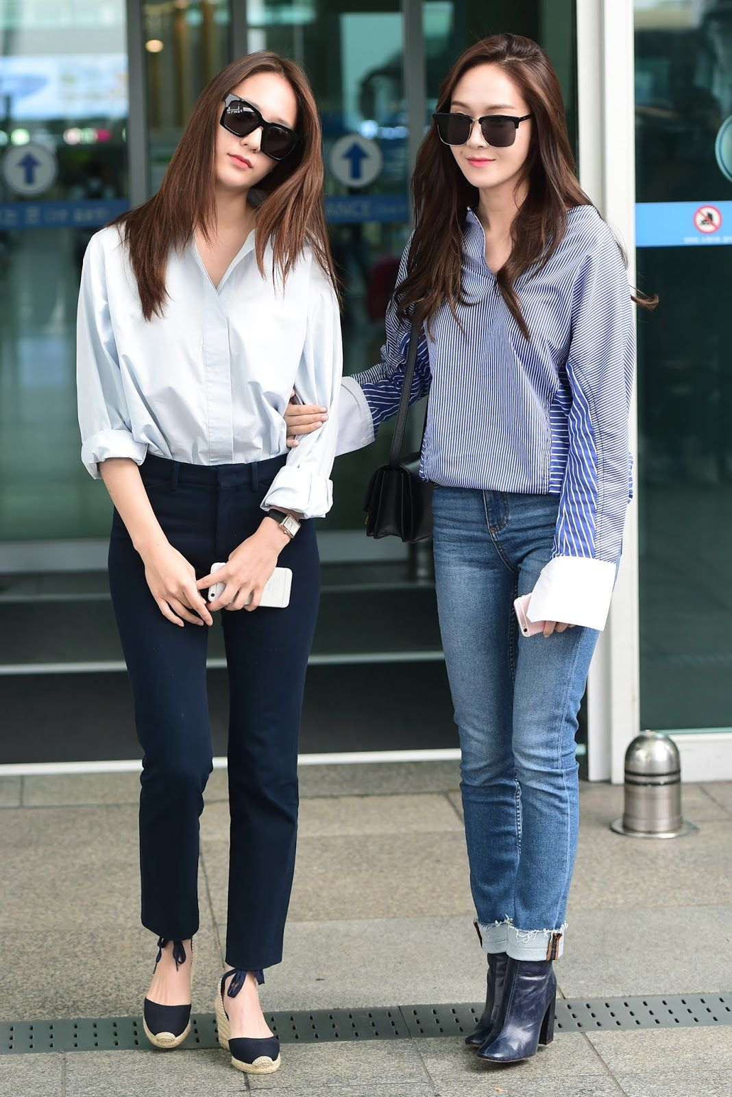 phong cách thời trang cặp chị em 2