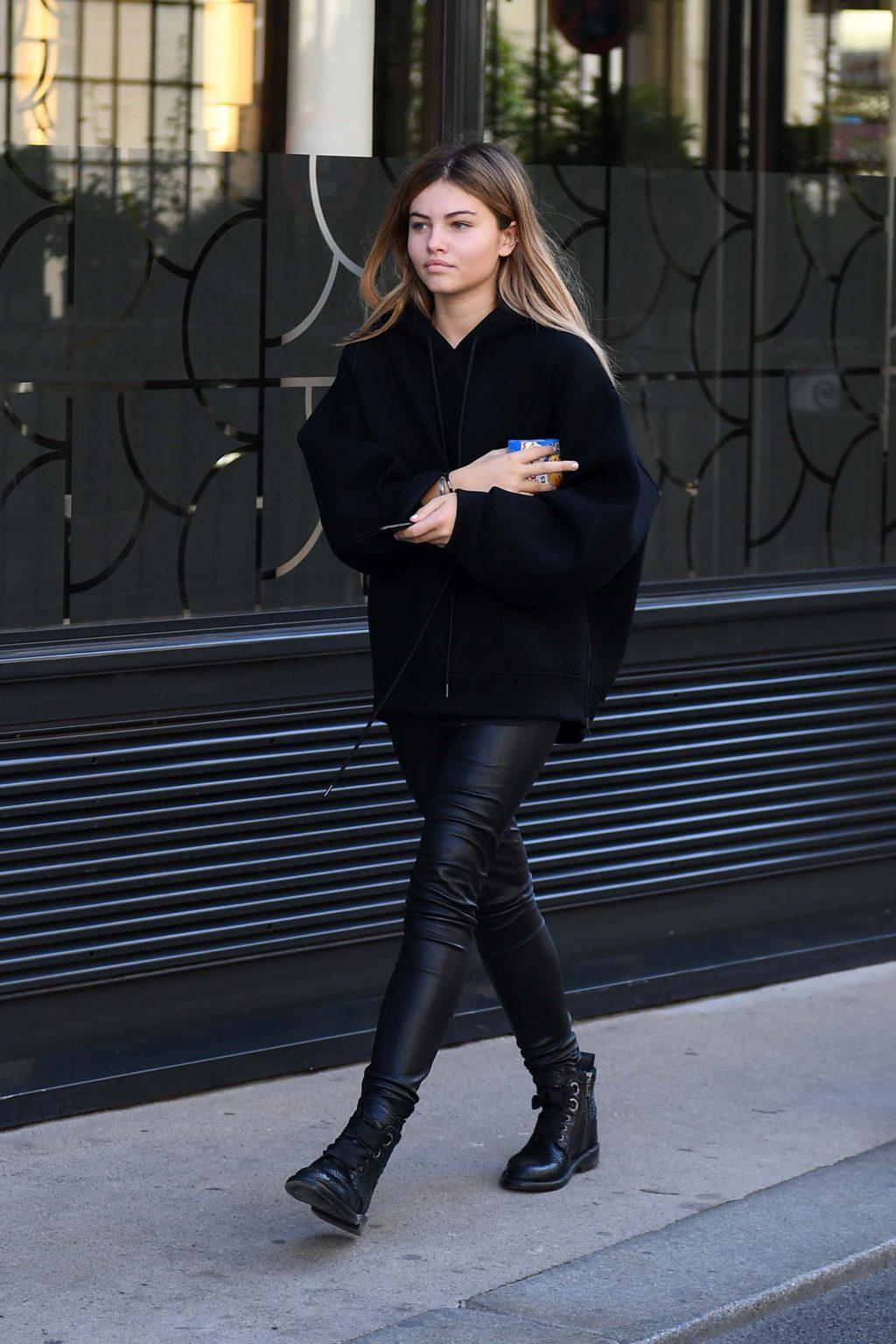 phong cách thời trang cá tính của người mẫu Thylane Blondeau 10