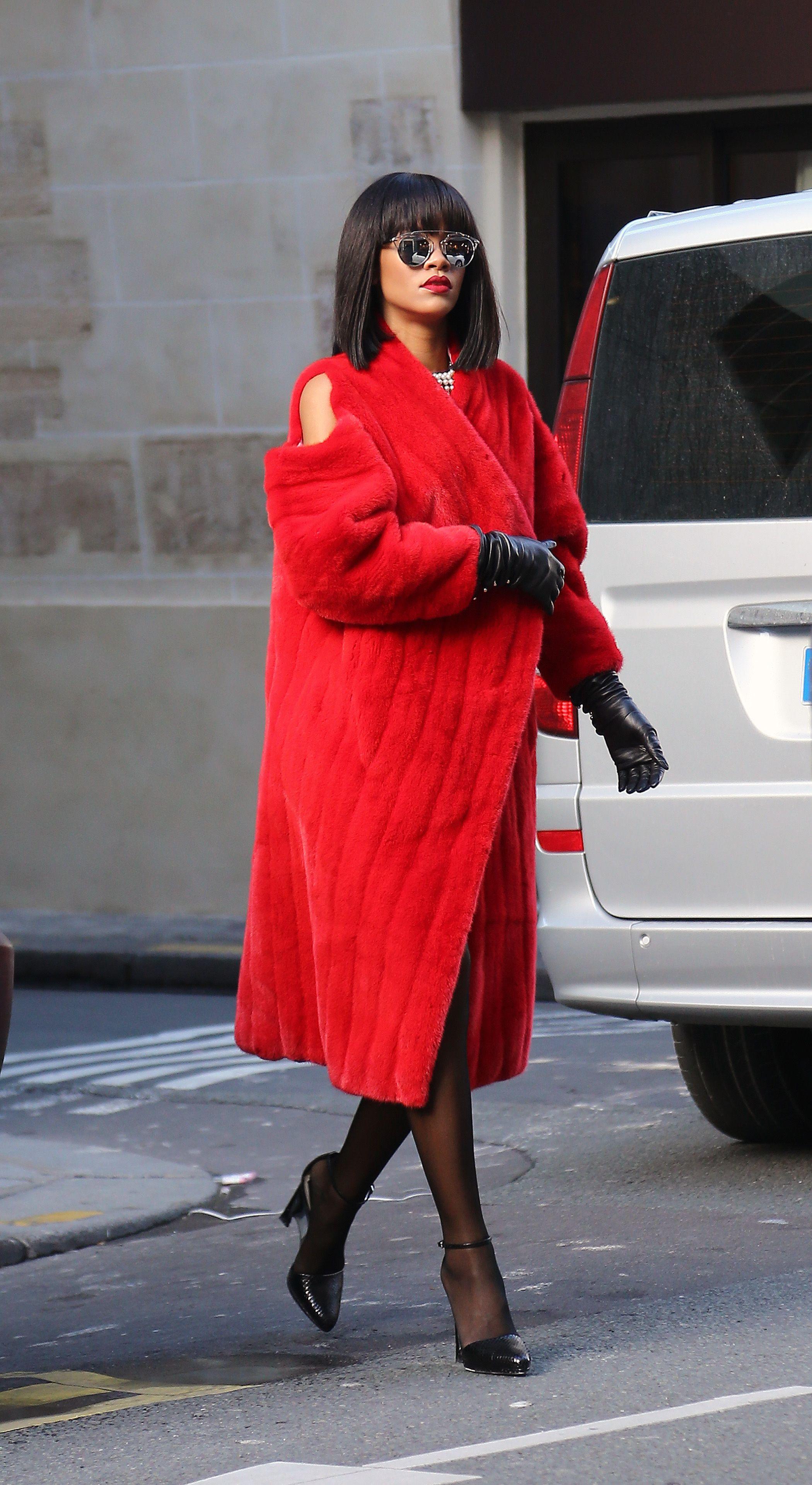 elle việt nam áo khoác oversize rihanna 5
