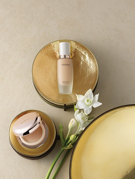 Sulwhasoo Sheer Lasting Gel Cushion & Foundation 2