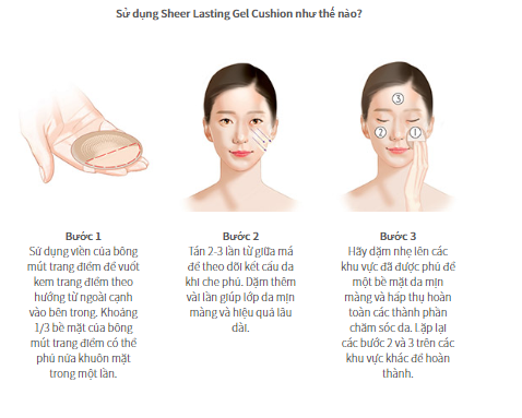 Sulwhasoo Sheer Lasting Gel Cushion & Foundation 3