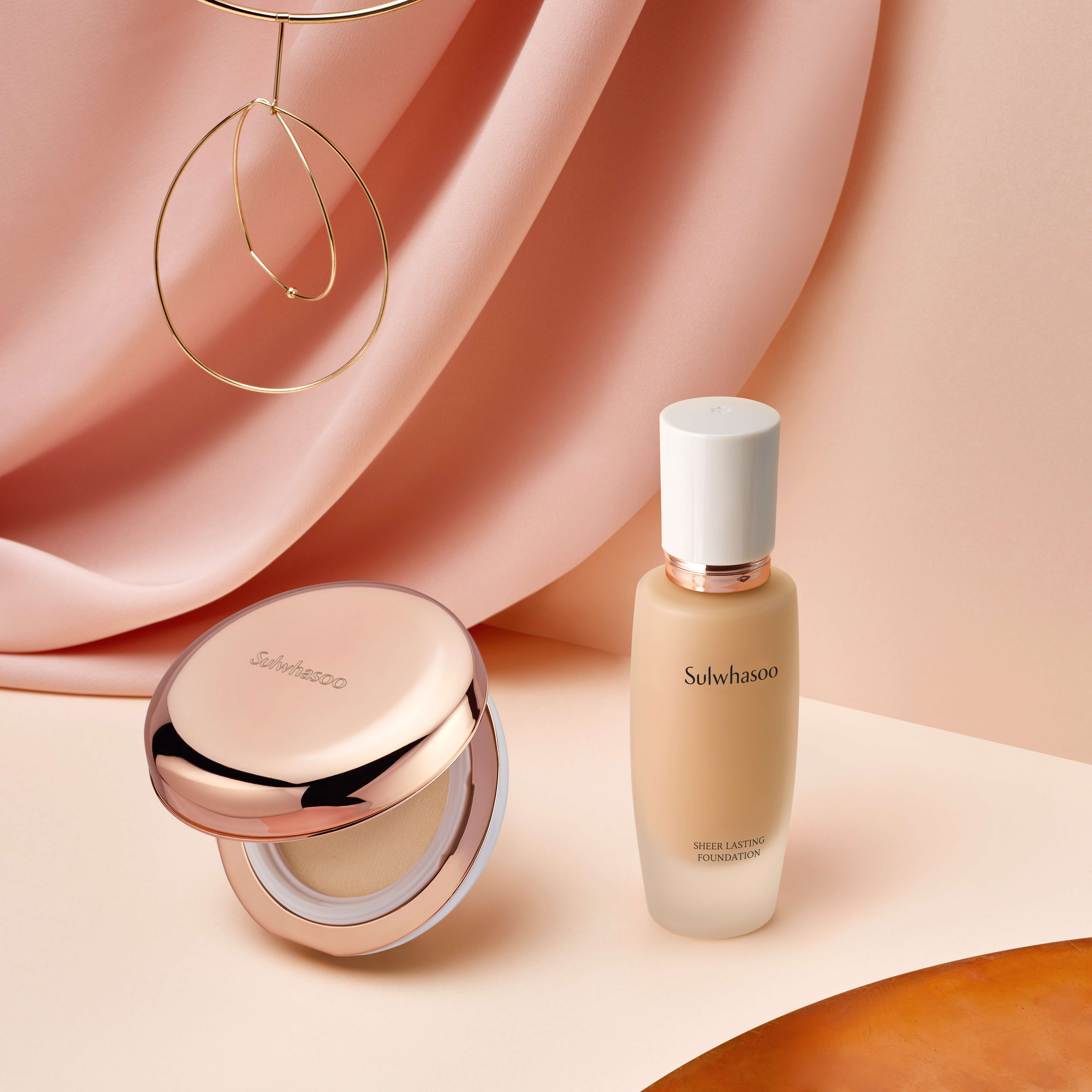 Sulwhasoo Sheer Lasting Gel Cushion & Foundation 5