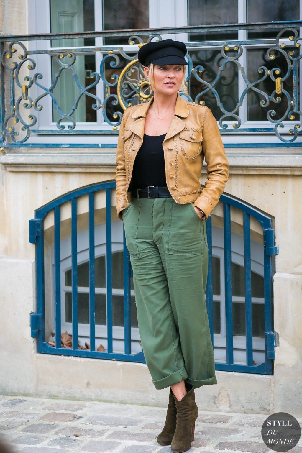 phong cách thời trang siêu mẫu Kate Moss 1