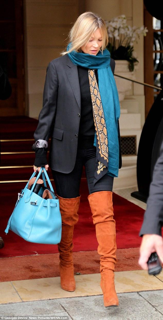 phong cách thời trang siêu mẫu Kate Moss 11