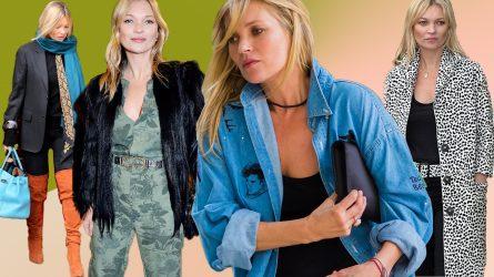 Siêu mẫu Kate Moss và những món đồ thời trang đã trở thành biểu tượng