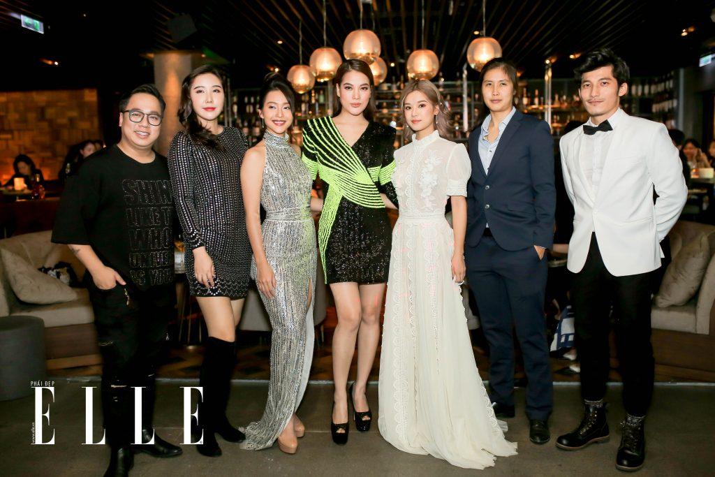 Những gương mặt nghệ sĩ và ngôi sao lớn của làng giải trí Việt tại đêm tiệc ELLE Beauty Awards 2019.