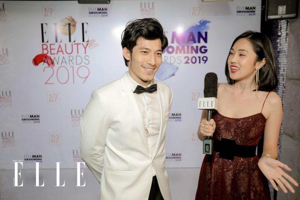 Nam diễn viên Liên Bỉnh Phát. ELLE Beauty Awards 2019