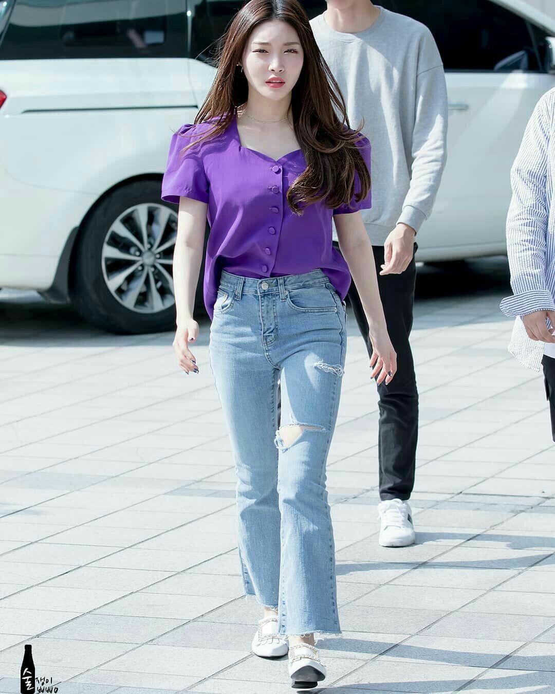 phong cách thời trang Kim Chung Ha 14