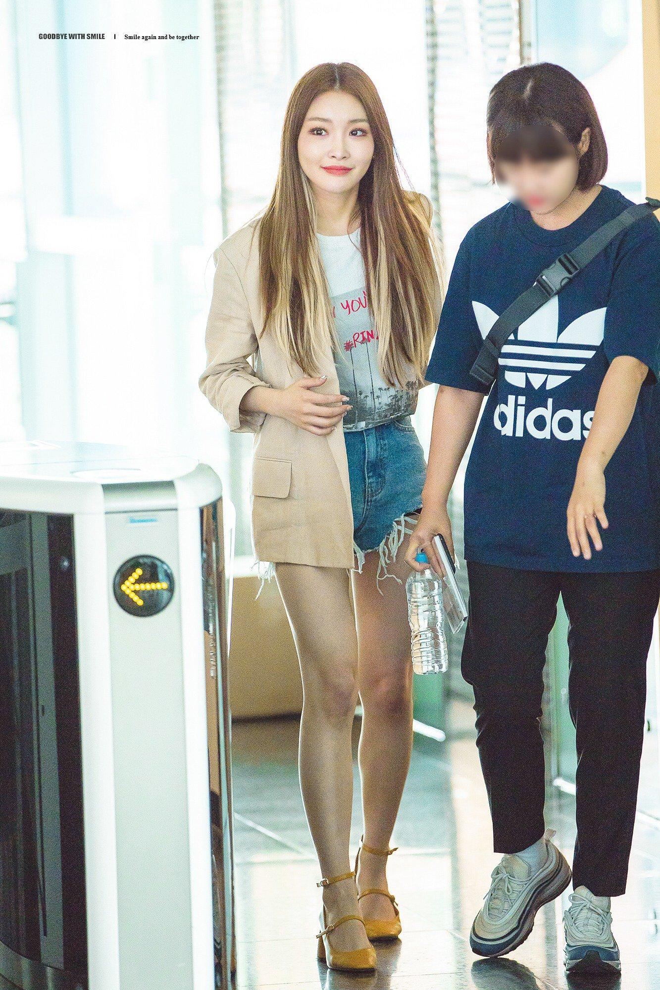 phong cách thời trang Kim Chung Ha 19