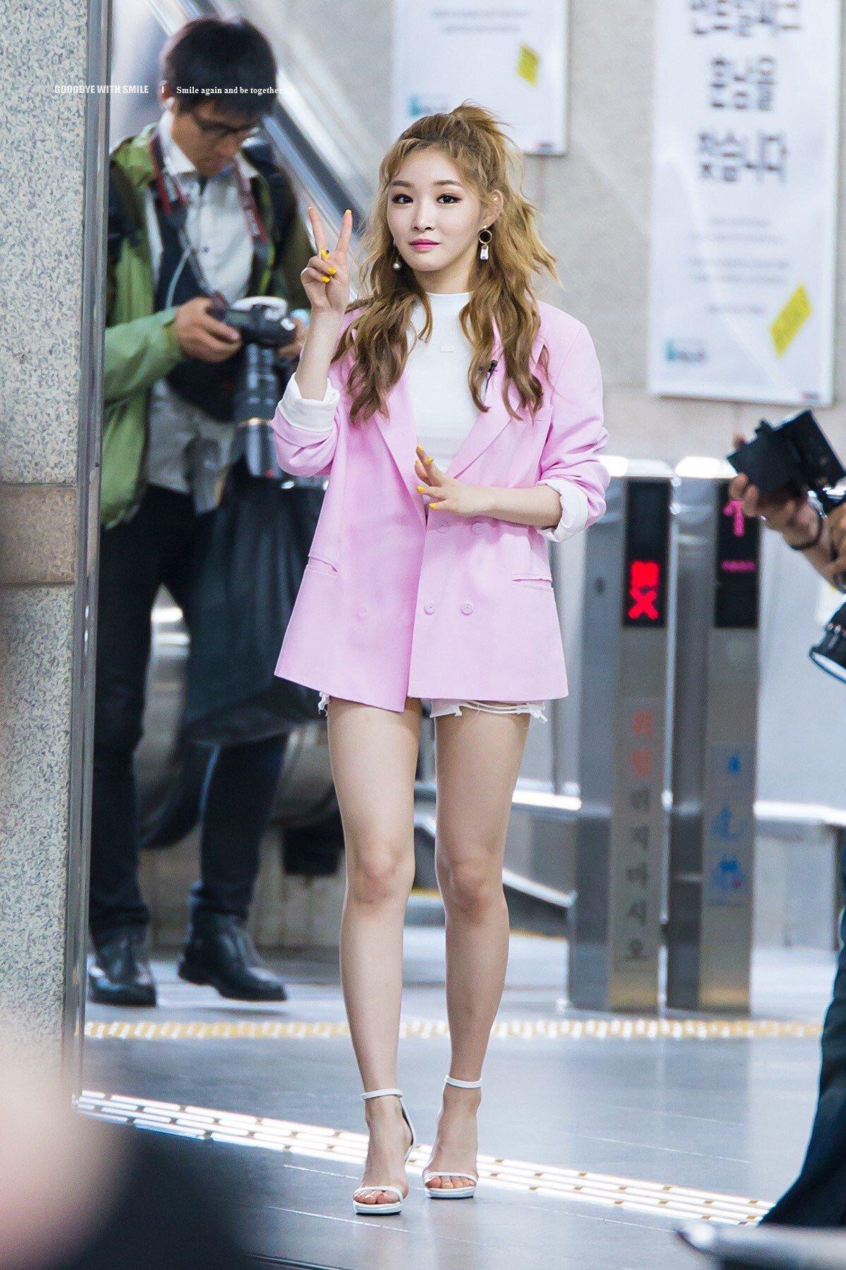 phong cách thời trang Kim Chung Ha 4