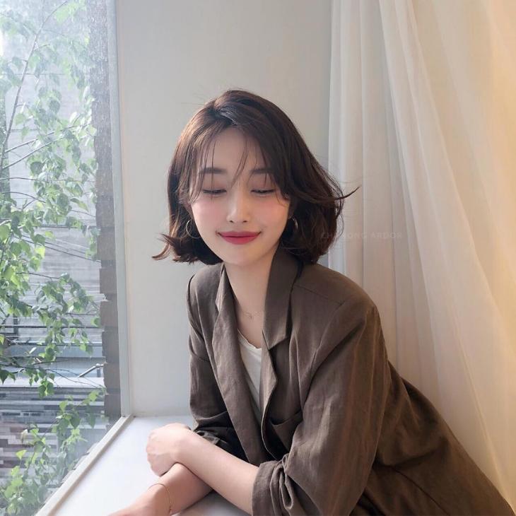03 kiểu tóc ngắn Hàn Quốc