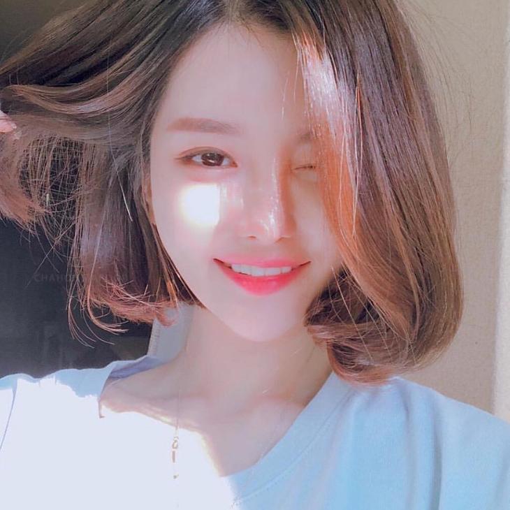08 kiểu tóc ngắn Hàn Quốc