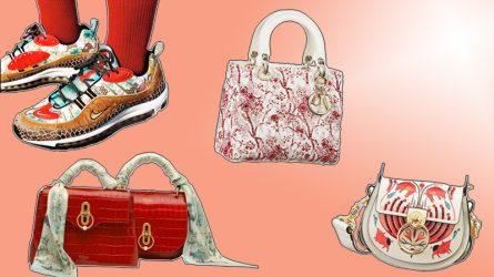 Sắc Xuân bừng nở trong BST Tết Nguyên đán của các thương hiệu thời trang cao cấp
