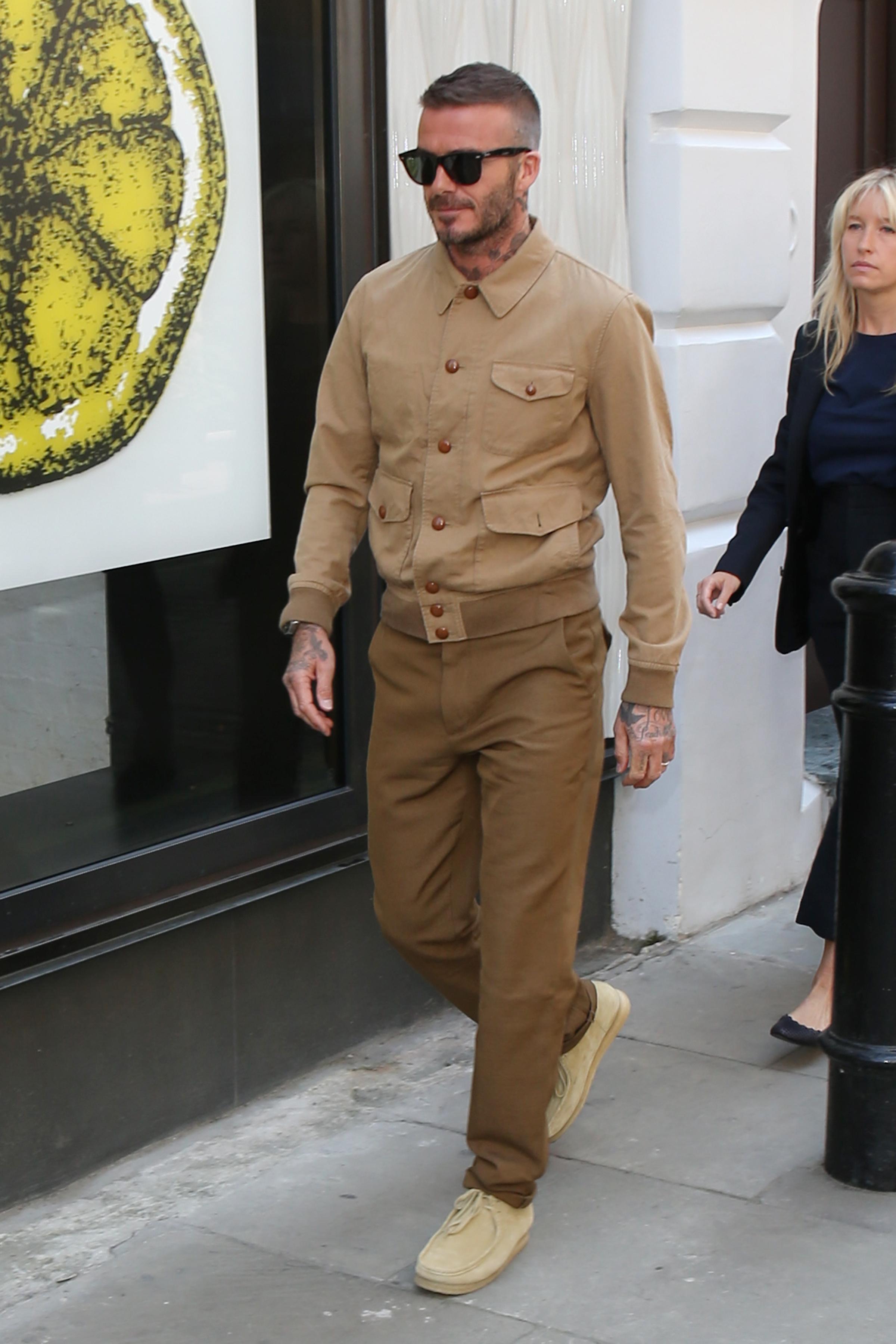 Phong cách thời trang david beckham