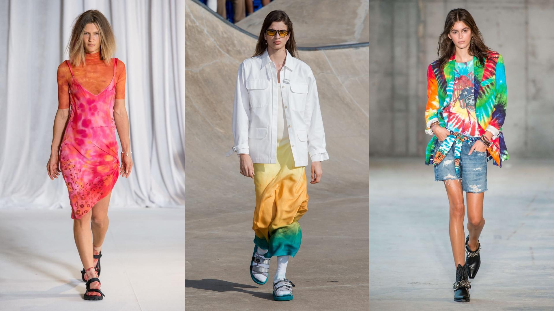 xu hướng thời trang tie-dye 2