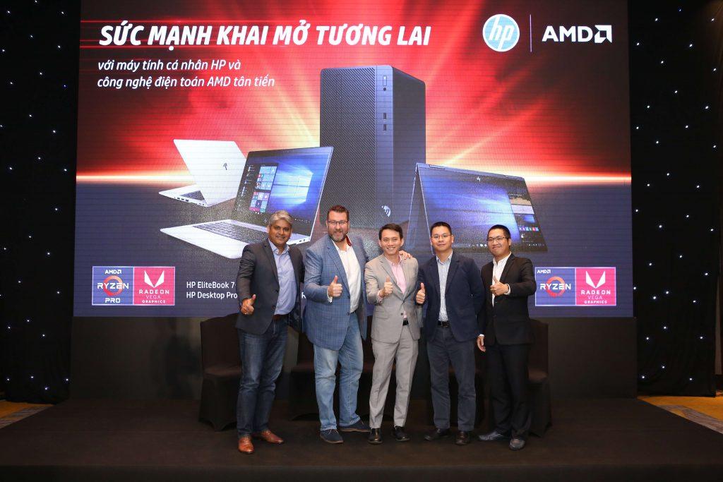 HP Việt Nam giới thiệu danh mục sản phẩm máy tính cá nhân