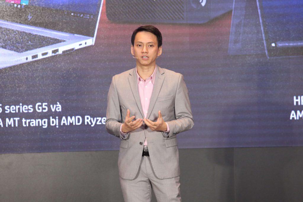 HP Việt Nam giới thiệu danh mục sản phẩm máy tính cá nhân 8