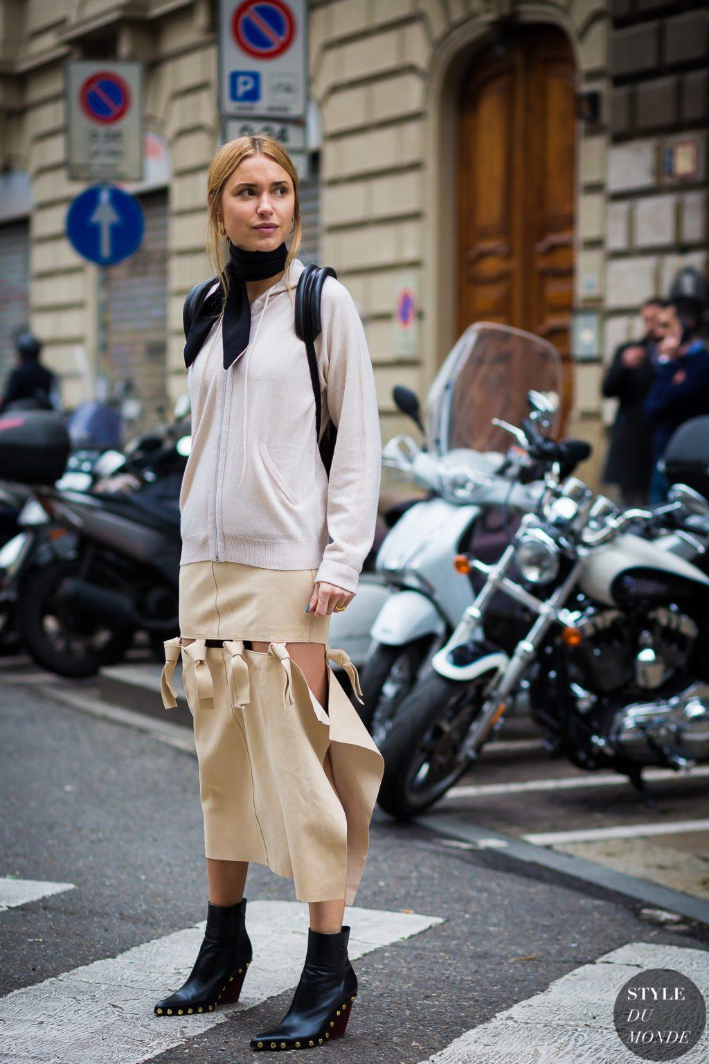phong cách thời trang với màu beige 10