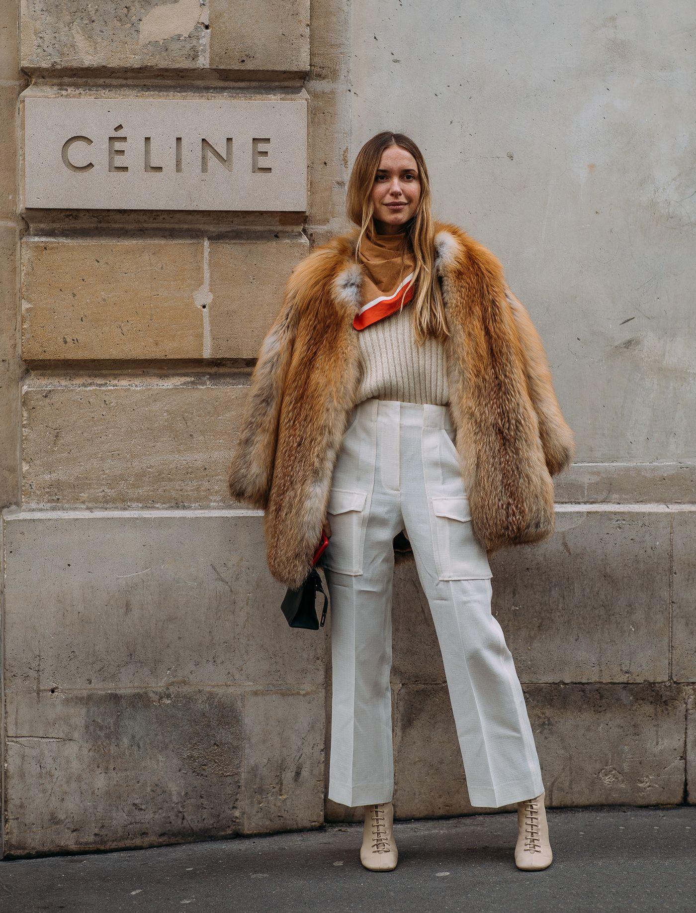 phong cách thời trang với màu beige 5