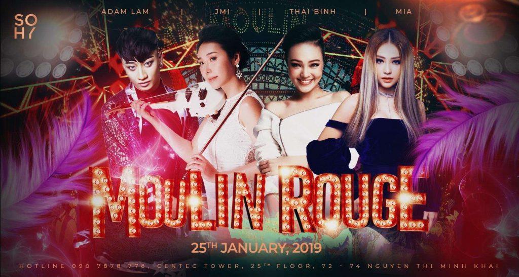 đêm tiệc Moulin Rouge Sohy 5