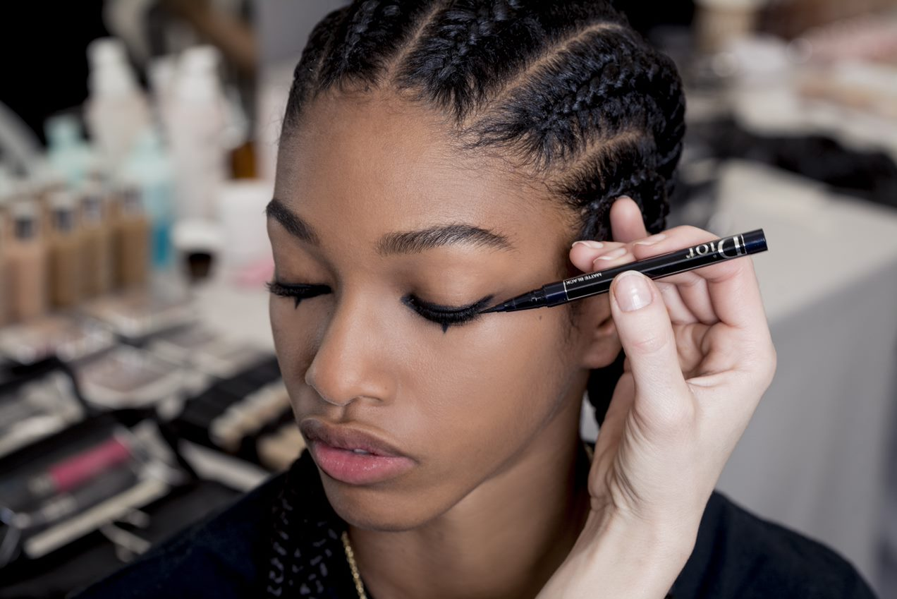 dior makeup look