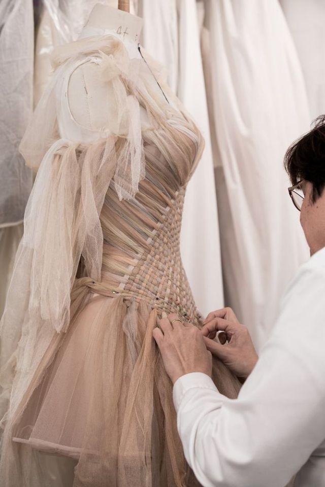 bst dior haute couture 2019 đan váy