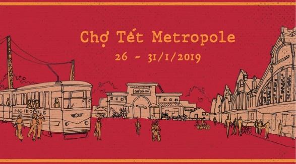 Chợ Tết Metropole 2019