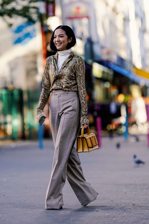 phong cách thời trang với màu beige 13