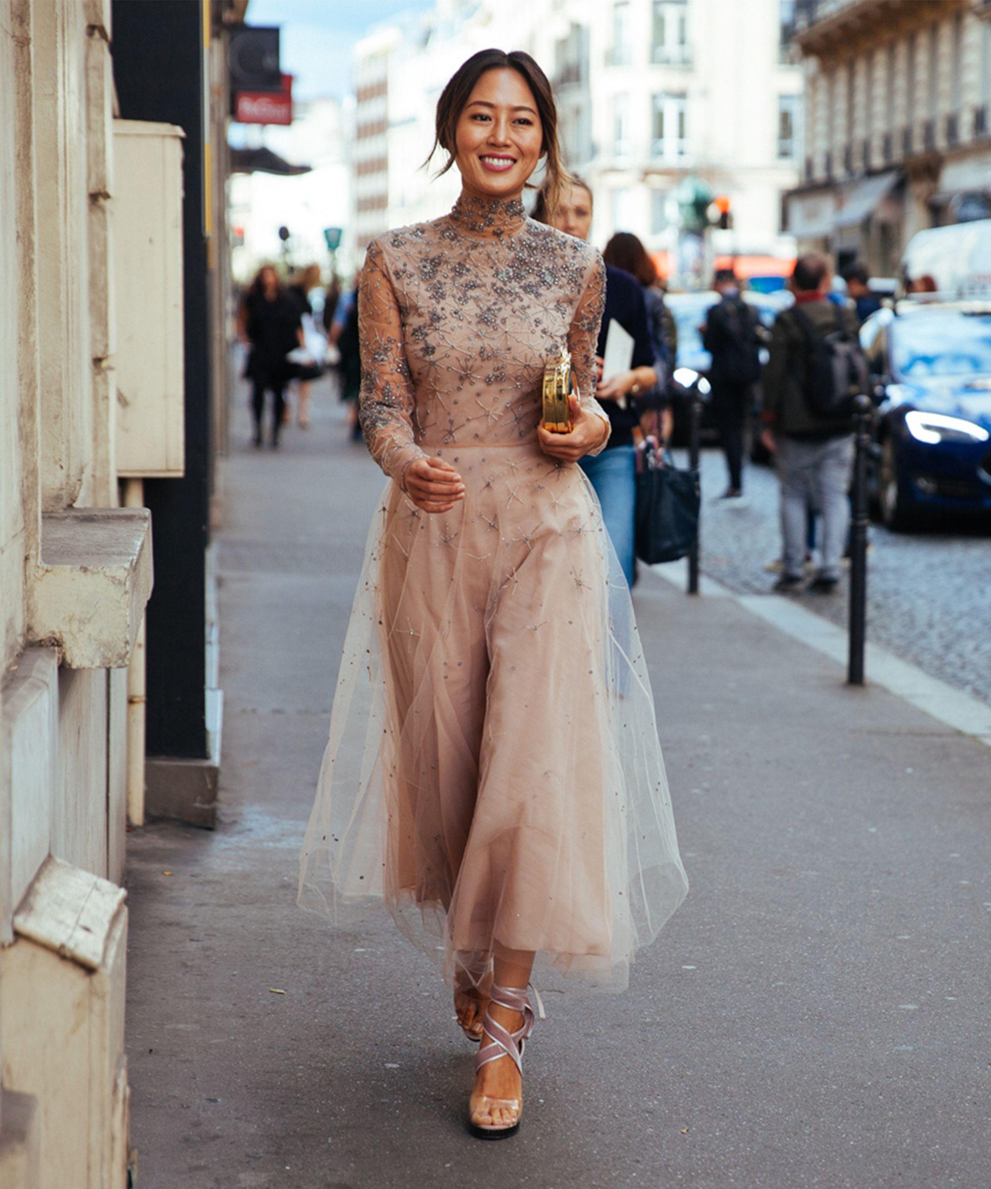 phong cách thời trang với màu beige 21