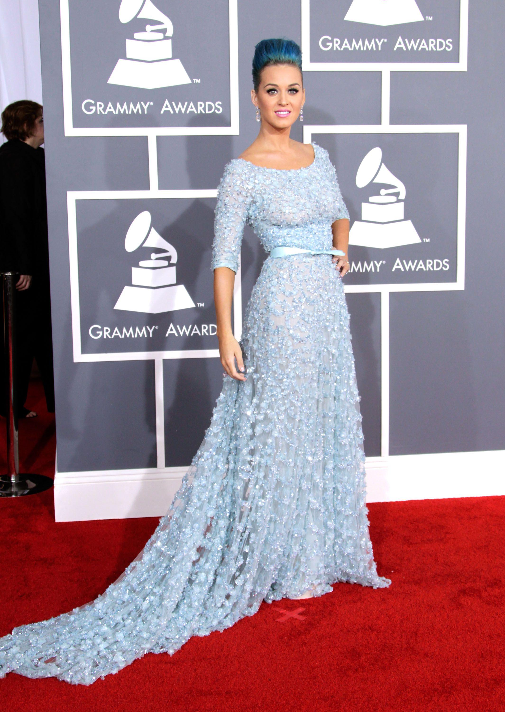 Thời trang thảm đỏ Grammy Katy
