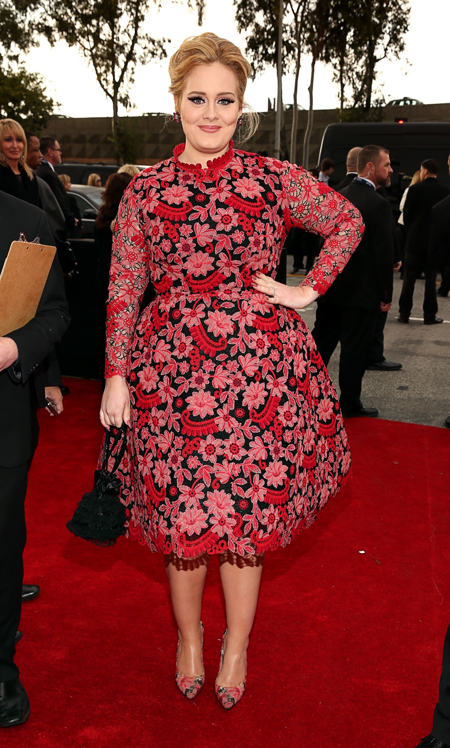 Thời trang thảm đỏ Grammy Adele