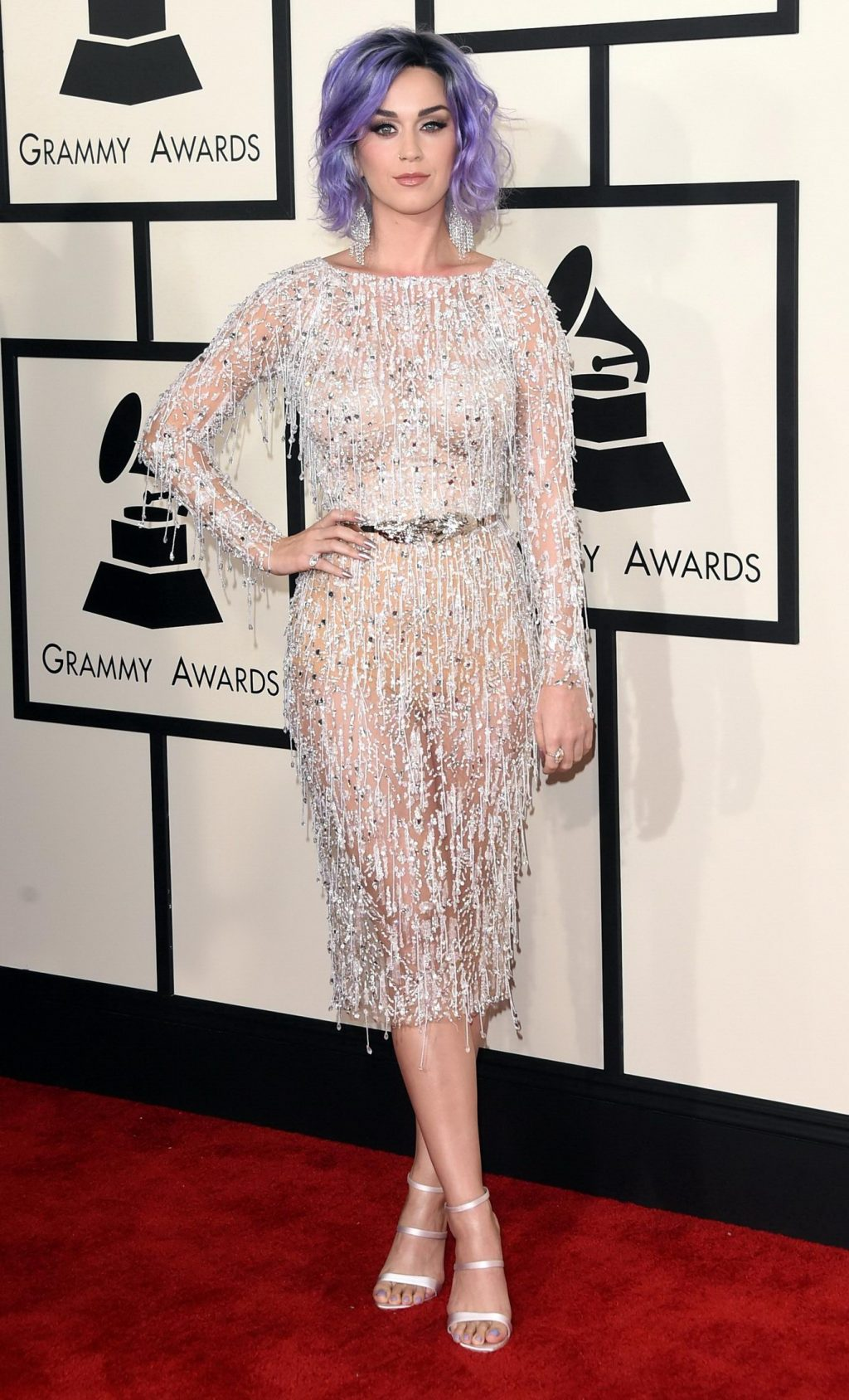 Thời trang thảm đỏ Grammy Katy Perry