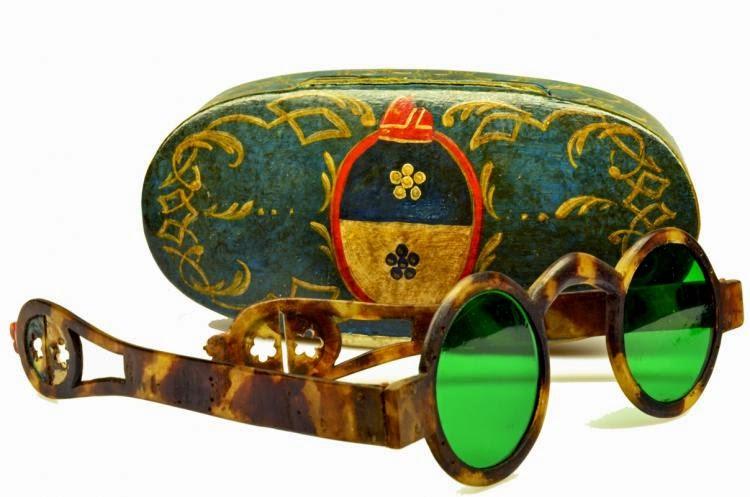 Lịch sử kính mắt thời trang kính màu Ý 1